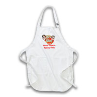 """Never Trust a Skinny Cook"" Apron Thumbnail"