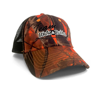 Team Rick & Bubba Orange Camo Cap Thumbnail