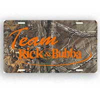Camo License Plate Thumbnail