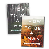 How to Be a Man Devotionals - Vol 1 and 2 - Bundle Thumbnail