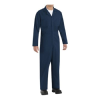 Red Kap Twill Action-Back Coverall Thumbnail