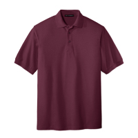 Men's Port Authority Silk Touch Polo
