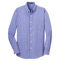 Port Authority Long Sleeve Gingham Shirt Thumbnail