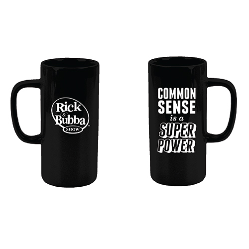 Common Sense is a Super Power Mug