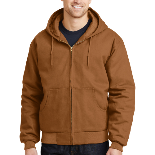 CornerStone - Duck Cloth Hooded Jacket